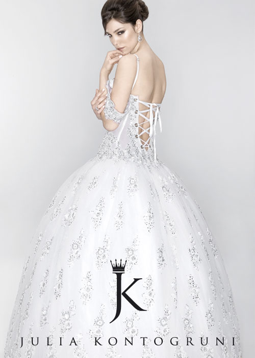 ДЖУЛИЯ КОНТОГРУНИ JULIA KONTOGRUNI - BRIDAL GOWN COLLECTION 2009