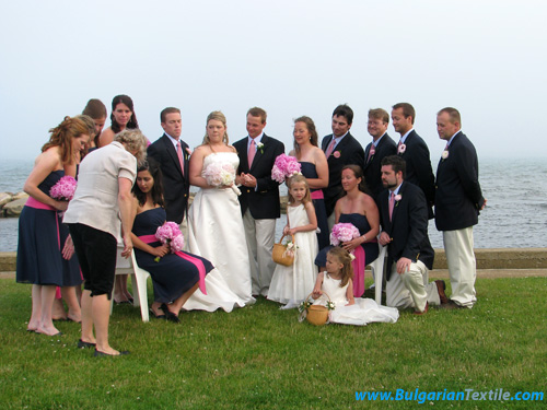 Български Текстил CULTURAL EXCHANGE: AMERICAN CAPE COD STYLE WEDDING - PART 2