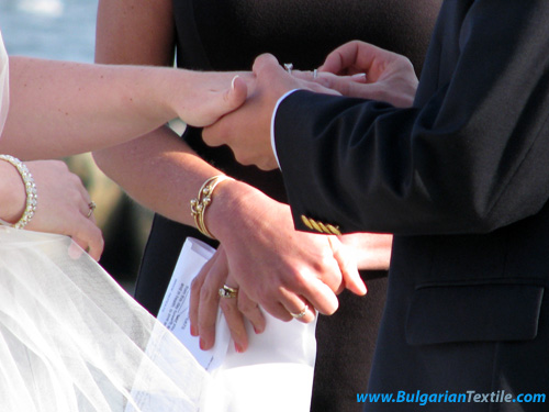 Cultural Exchange: American Cape Cod Style Wedding - BulgarianTextile.com