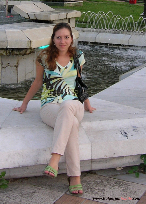Bulgarian Textile Kollektion  Sommer 0