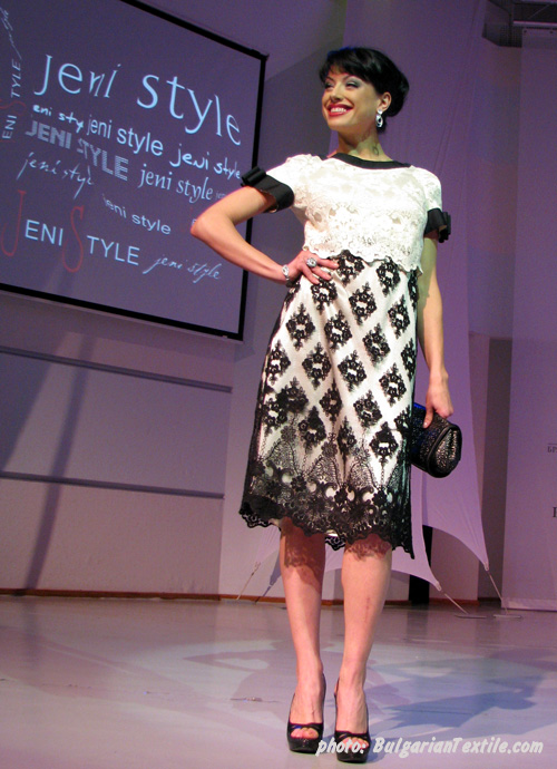 Leading Bulgarian Designer Evgenia Zivkova Presented Collection SS10 Part 2 - BulgarianTextile.com