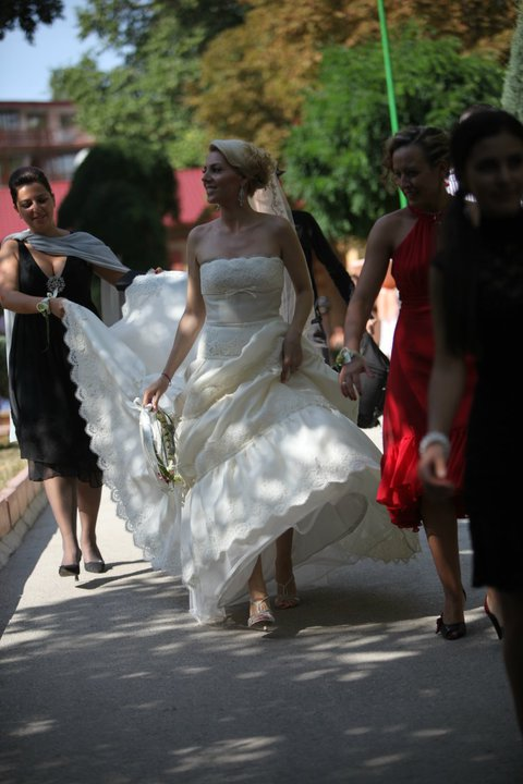 Stylish Summer White Wedding 2... - BulgarianTextile.com