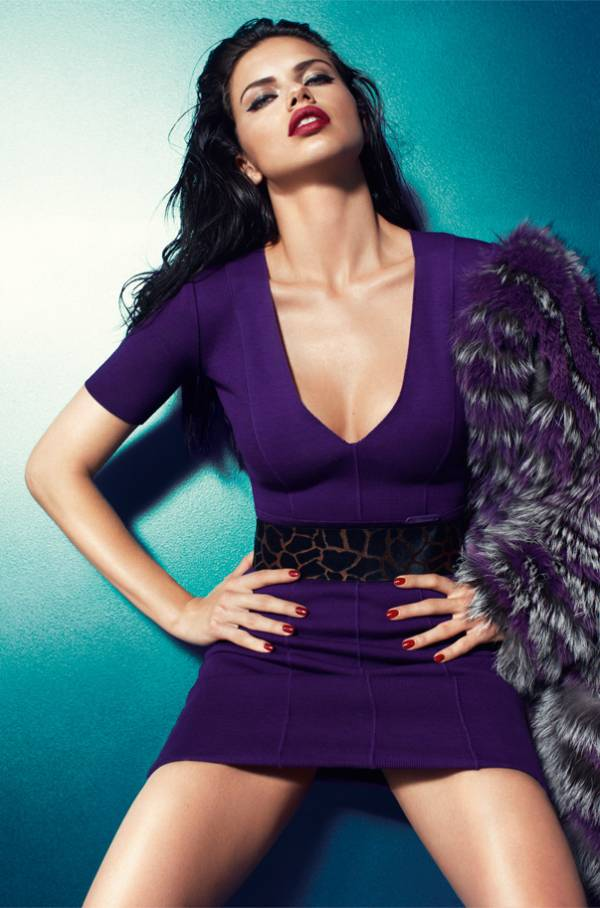 АСТЕЛА Adriana Lima in an Attractive and Breathtaking Fall Winter Collection Campaign 2011/2012 for Bluemarine