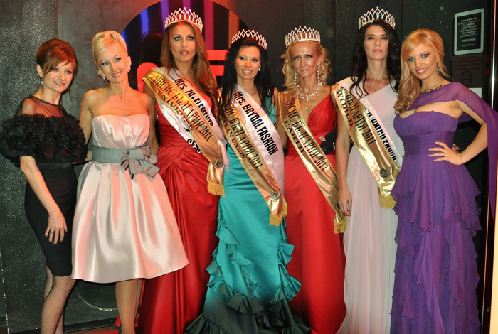 Брайдал Фешън ООД Mrs. Bulgaria 2011 Finalists Dressed in Bridal Fashion
