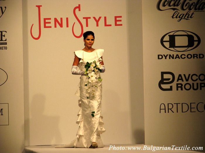 Jeni Style presented her newest collection FW 2012-2013 - Bridal