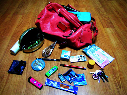 Боряна Янева Peeking into purses