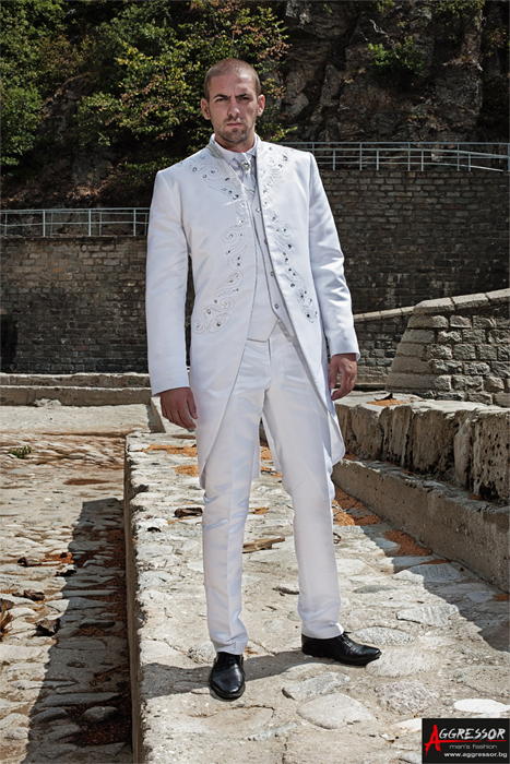 Wedding suits by Aggressor - BulgarianTextile.com