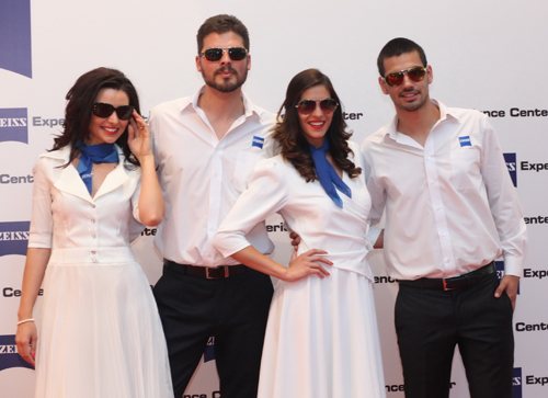 ZEISS EXPERIENCE CENTER PRESENT EXCLUSIVE DESIGNS OF SUNGLASSES BRANDS