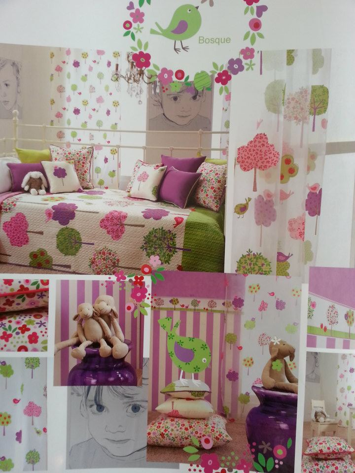 Childrens curtains and wallpaper - BulgarianTextile.com