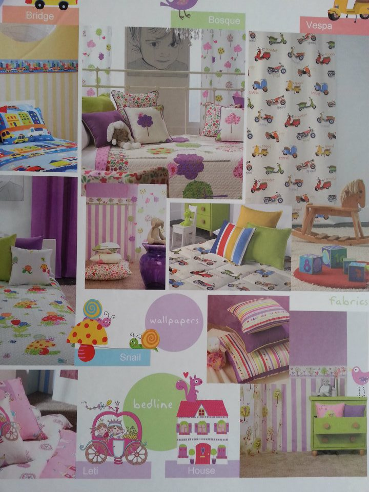 СИТИ ХОУМ ДЕКОР Childrens curtains and wallpaper