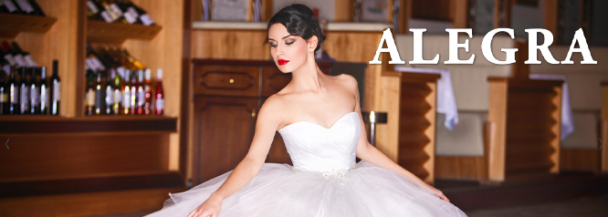 ALEGRA GR Bridal Boutique111 Collectie   2015